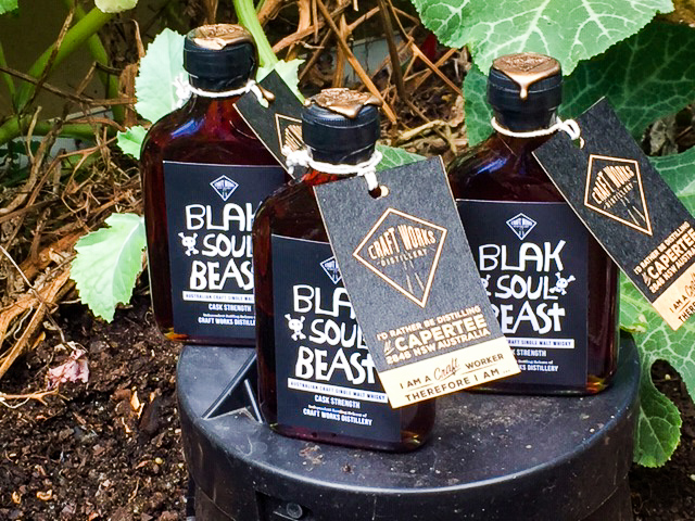 Blak Soul Beast, independent bottling, Craft Works Distillery, Australian whisky
