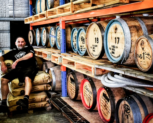 Crafty Field, Australian whisky, whisky warehouse