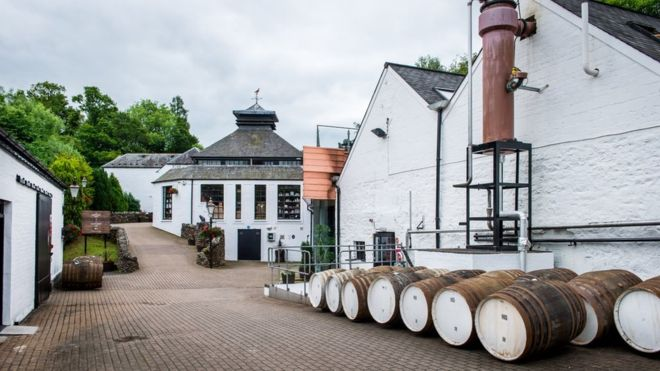 Glenturret distillery Private Tours Edinburgh