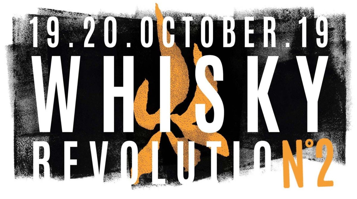 Getting ready for the Whisky Revolution Festival